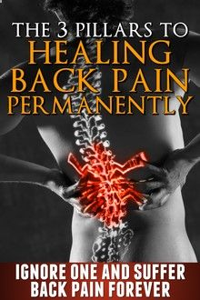 lower back pain book