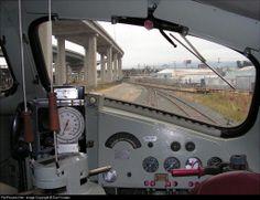 F7 Cab view Electric Locomotive, Diesel Locomotive, Steam Locomotive, Train Car, Train Tracks, Paper Train, Pennsylvania Railroad, Covered Wagon, Train Pictures
