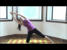 Oblique Pilates Workout. She has a ton of videos, each targeting a different body area. Love it!