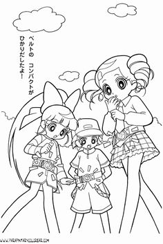 powerpuff girls z coloring pages google search