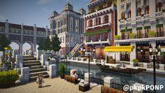 """PON☆P on Twitter: """"やばい、すこんてぃな景色になってきた これをベースに新しい街を広げたい願望が・・・ #minecraft建築コミュ #cocricot… """" Minecraft Modern City, Minecraft City Buildings, Minecraft House Plans, Minecraft Structures, Minecraft Cottage, Minecraft Castle, Cute Minecraft Houses, Minecraft House Designs, Amazing Minecraft"""
