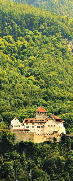 Watching over the city on a hill, the Vaduz Castle is an imposing symbol of Liechtenstein.