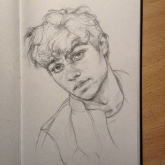 I know nothing about Nico Centineo but h. I know nothing about Nico Centineo but he's cute so I sketched him🌻 ~ ~ ~ Pencil Art Drawings, Art Drawings Sketches, Cute Drawings, Tumblr Sketches, Sketches Of People, Drawing People, Boy Drawing, Drawing Ideas, Drawing Faces