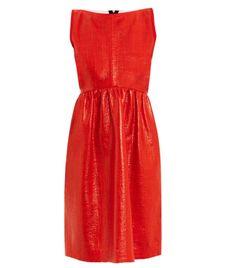 Sadler laminated dress by Roksanda Ilincic #Matchesfashion