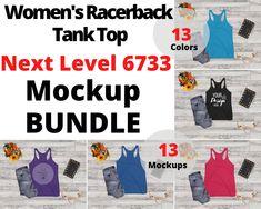 T Shirt Image, Blank T Shirts, Shirt Mockup, Photo Editor, Racerback Tank, Branding, Things To Sell, Tank Tops, Flat Lay