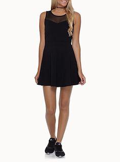 La petite robe noire bloc tulle   Simons