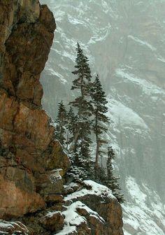 Rocky Mountains, Snowy Mountains, Winter Szenen, Nature Landscape, Landscape Photos, Photos Voyages, All Nature, Amazing Nature, Rocky Mountain National Park