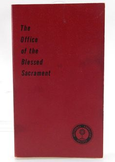 The Office of the Blessed Sacrament American by TheVintageCatholic, $24.99