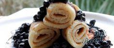 Recept Palačinky s borůvkami Waffles, Pancakes, Muesli, Kefir, Nutella, Breakfast, Ethnic Recipes, Mille Crepe, Food