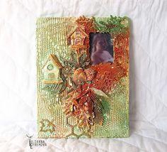 Handmade by Yulianna: Фото рама-коллаж