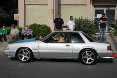 Fox Mustang -- my first car HaHaHa 2014 Mustang, 1993 Ford Mustang, Fox Body Mustang, Mustang Cobra, Notchback Mustang, My Ride, Fast Cars, Custom Cars, Muscle Cars