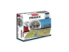 4D Cityscape puzzle Praha. Poznejte slavné budovy naší metropole a cestujte prstem po plánu města!Postavte si mapu Prahy včetně mnoha známých staveb a pomocí časového plánu objevujte, jak tato metropole rostla a měnila svůj vzhled od roku 1736.4D puzzle je 3D puzzle, které přidává čtvrtou dimenzi - čas a zobrazuje… Praha, Puzzle, Games, Puzzles, Gaming, Plays, Game, Toys, Puzzle Games