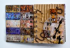 March Mixed Media Kit: Mini Book | In A New York Minute