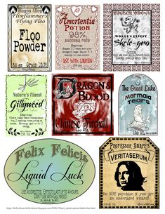HollysHome Family Life: Harry Potter Potion Labels Free Printable, DIY and Crafts, HollysHome Family Life: Harry Potter Potion Labels Free Printable. Harry Potter Poster, Harry Potter Library, Harry Potter Thema, Cumpleaños Harry Potter, Harry Potter Classroom, Harry Potter Halloween, Harry Potter Potion Labels, Harry Potter Motto Party, Harry Potter Printables