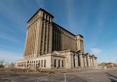 Michigan Central Station, Detroit (Michigan) - michigan-central-station-detroit-abandoned