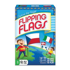 Can you tell the difference between the Italian flag and the Irish flag? R and R Games Flipping Flags is perfect for parents to test their kids' knowledge about the world flags, and a fun, quick game for all ages to play anywhere, anytime. All Card Games, Family Card Games, Christmas Games For Family, Puzzle Games For Kids, Puzzles For Kids, Flag Game, Fun Outdoor Games, Quick Games