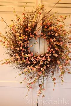Cherry Blossom wreath DIY