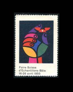 Switzerland – Swiss Fair of Echantillions Bâle Stamp