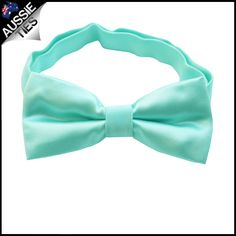 Mint Green Tiffany Boys Bow Tie. | Aussie Ties