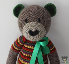 crochet bear Bears&Co.