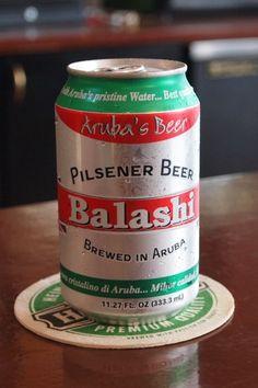 Friday Happy Hour: Three Reasons to Love Aruba's Balashi Beer | Aruba | Uncommon Caribbean. Billy loves this beer!