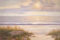 Ocean Surf by Diane Romanello - Canvas Print at DianeRomanello.com