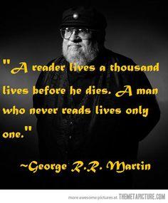 So true!! (Love his books)
