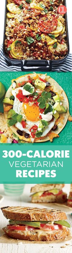 Build a strong portfolio of delicious low-calorie meals and let it help with your weight loss. We'll get you started with this collection of vegetarian recipes that are short on calories but big on flavor. | Cooking Light