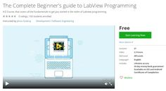Coupon Udemy - The Complete Beginner's guide to LabView Programming (Free) - Course Discounts & Free