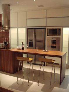 cozinha bancada de madeira - Pesquisa Google
