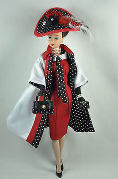 Handmade-Vintage-Barbie-Silkstone-Fashion-by-P-Linden-12-pc-Holiday-in-Milan