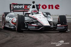 Will Power in action at St. Pete