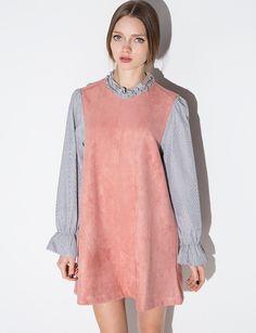 suede Dress #fashion #pixiemarket