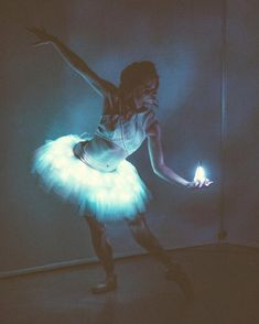 """309 Likes, 2 Comments - Ballet Zaida (@balletzaida) on Instagram: """"In collaboration with @quixoticfusion / Dancer @maggie_a95 / #ballerina #Tutu #Lights #LeD #Dance…"""""""