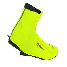 51 € -> Cubrezapatillas GORE BIKE WEAR ROAD WINDSTOPPER SOFT SHELL Amarillo Fluorescente - Probikeshop