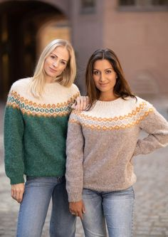 Garnpakke: Alettegenser i Faerytale (dame) - Knitting Inna Green Hats, Bag Packaging, Host A Party, Girls Sweaters, Red Poppies, Knitted Hats, The Incredibles, Pullover, Knitting