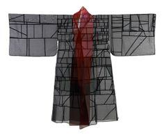 Pojagi technique kimono by jiyoung chung - ArtXchange Gallery at firstthursdayseattle.com