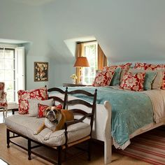 Bedroom tiffany blue Design Ideas, Pictures, Remodel and Decor