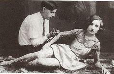 18-Primeiro estúdio de tatuagem em Nova York, em 1961