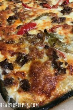 Philly Cheese Steak, Cheese Steaks, Beef Recipes, Cooking Recipes, Lasagna Recipes, Soul Food Lasagna Recipe, Italian Recipes, Dog Recipes, Gourmet
