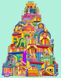 Bouncy Castle Castle