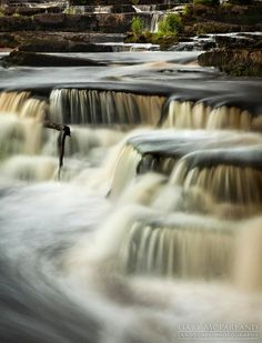 The Cascades - The Cascades at Ennistymon Co Clare, Ireland