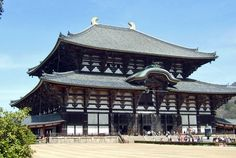 One excursion to Nara allows the visit of Todaiji Temple,  home of Daibutsuden Hall that was once the largest wooden building in the world. - Photo by Gilda Kato, Group Escort