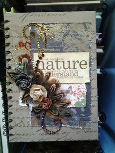 "Altered journal for ""Scrapbook Your Heart 2012"" attendees."