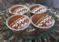 Greek Recipes, Tiramisu, Food To Make, Pudding, Sweets, Ethnic Recipes, Desserts, Cakes, Glass