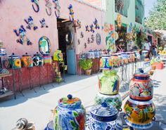 Dolores Hidalgo, Mexico the birthplace of the independence of Mexico I love the pottery there you can find the most gorgeous tiles