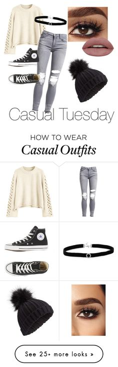 """Casual Tuesday"" by youngbarth on Polyvore featuring AMIRI, BillyTheTree and Miss Selfridge"