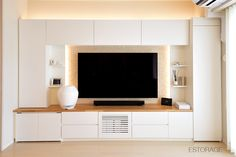 Living Room Wall Units, Living Room Plan, Living Room Tv Unit Designs, Living Room Decor, Hotel Bedroom Decor, Master Bedroom Interior, Tv Unit Interior Design, Tv Wall Design, Diy Dining Room Table