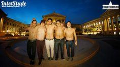 Boys in front of the Museum of Art - Philadelphia