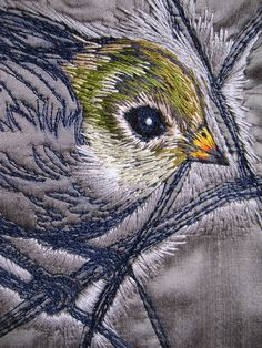 Tara Badcock for Planet Commonwealth- Thornbill cushion cover